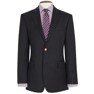 Otley Classic Fit Navy Wool Blazer