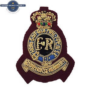 7th RHA Embroidered Beret Badge