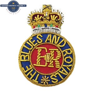 Blues and Royals Embroidered Beret Badge
