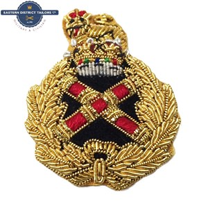 Field Marshal's Embroidered Beret Badge