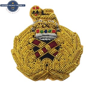 Field Marshal's Embroidered Cap Badge