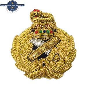 General's Embroidered Beret Badge