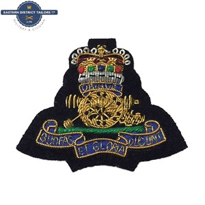 RA Embroidered Beret Badge