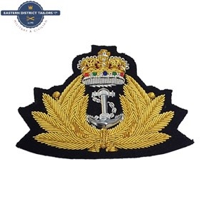Royal Navy Embroidered Beret Badge