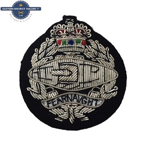 RTR Embroidered Beret Badge