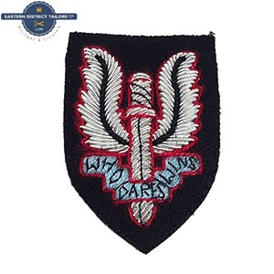 SAS Embroidered Beret Badge