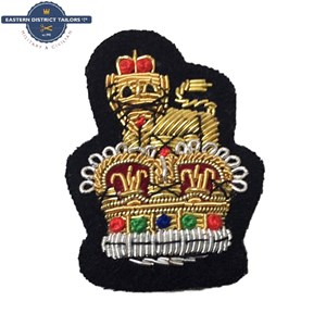 Staff Officers Embroidered Beret Badge