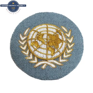 UN Officers Embroidered Beret Badge