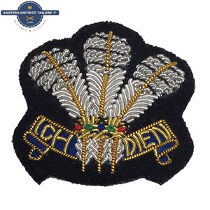 Welsh Regiment Embroidered Beret Badge