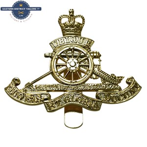 Royal Artillery Metal Cap Badge