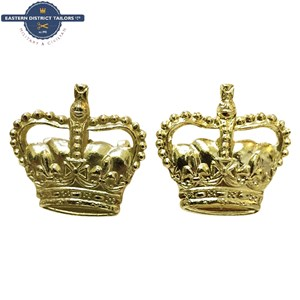 Gold Anodised Crowns