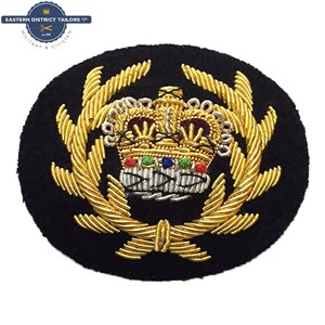 WO2 RQMS Crown & Wreath Black