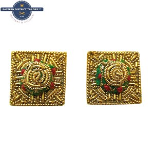 Gold Embroidered Officers Mess Dress Pips