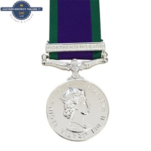 GSM Northern Ireland Medal