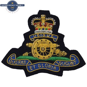 Royal Artillery HQ Blazer Badge