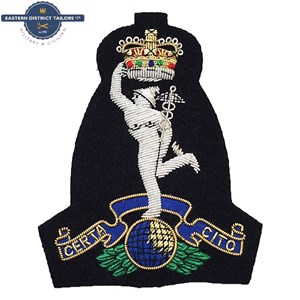 Royal Signals Blazer Badge